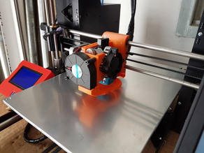 Titan Aero BLTOUCH and Layer Fan whit x Carriage