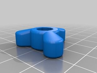 My Customized Oh nooo, another  thumb wheel / knob / screw / whatever :D