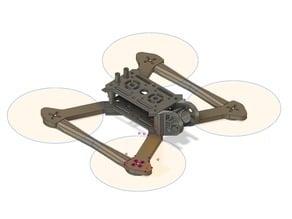 Modular Light Weight Quadcopter Frame