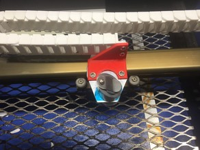 Bracket for mounting Dacreate's cable chain (laser end)
