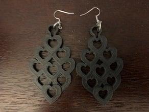 Hearts Around Earrings