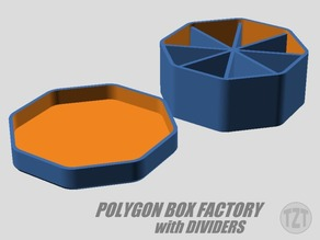 Customizer - Polygon Box Factory with Dividers