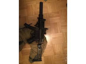 MP5k m4 adapter backplate