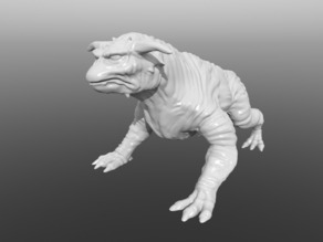 Ghostbusters Terror Dog Re-Sculpted