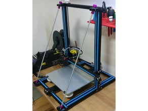 Printer front bracing ,for most gantry printer. simple design!!