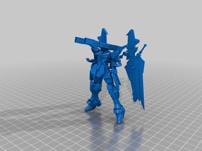 Gundam thing with wings