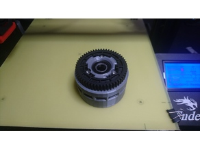Track wheel for the RC Tank to use Traxxas 54T/Modul1 piniongear