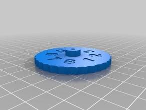 Heatbed adjustment wheel for Tevo Tarantula