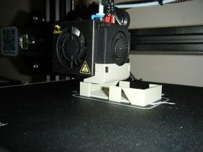 Ender 3 External cooling fan tip