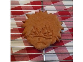 Bakugo Katsuki Cookie Cutter
