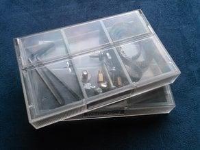 C-casette case organizer