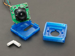 Low profile case for serial TTL camera (PTC08)