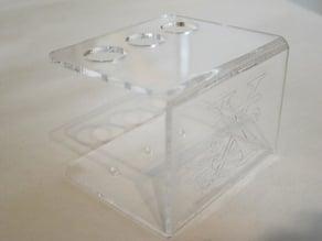 Laser Origami Pen Holder