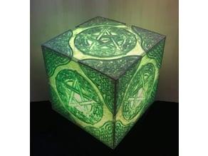 Celtic Knot Pentacle Lamp