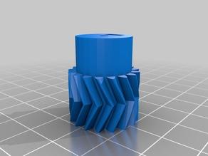 My Customized Parametric Herringbone Gear small