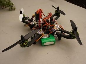 Lightweight single part quadcopter frame (236mm)