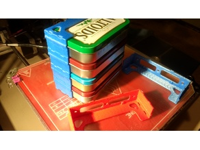 Merged Modular Altoids Tin Storage Rack