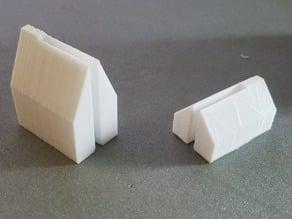 Lithophane brace