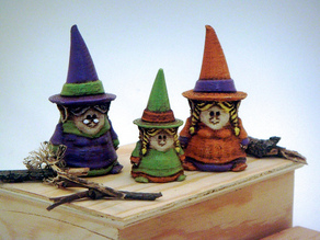 3 Gnomie Witches