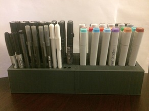 Copic and Prisma Magnetic Marker Holder/Stand