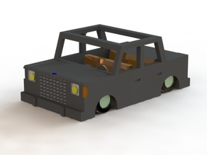 Toy Car (The Box on Wheels)