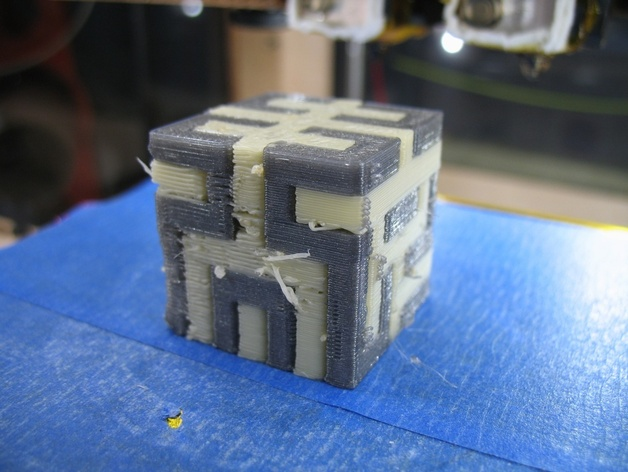 Hilbert Cube with PVA Support