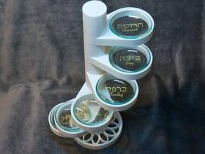 Vertical Seder Plate