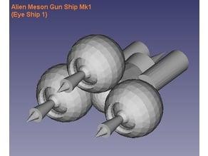 Alien Meson Gunship Mk1