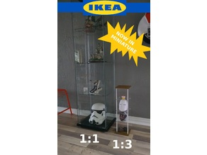1/3 scale Mini IKEA Display Case for BJD