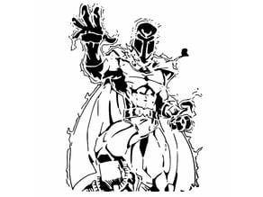 Magneto stencil 2