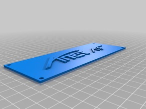 Anet LCD Panel Cover with Logo