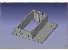 Simple flexing 9V Battery Holder