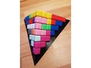 3D Pyramid Puzzle