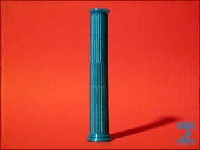 Seej Column, Fluted
