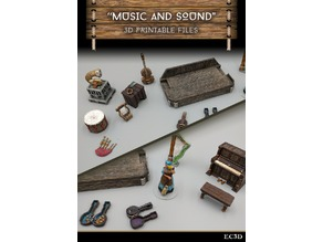 Music and Sound - 28mm Gaming - Sample Items