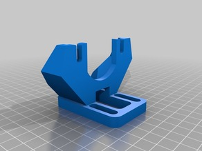 Levelable Greg-Wade-Jonas-Misan extruder support for Prusa i3-- Open Holes