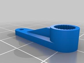 My Customized Parametric servo arms