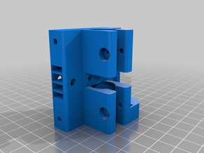 Z Axis Lead screw (trapezoidal thread) tensor support