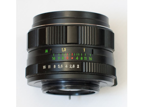 Helios 44M-4 Nikon Infinity Focus mod parts
