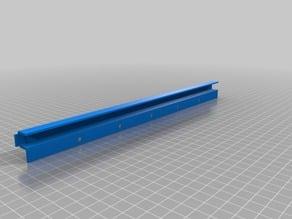 CNC/3D PRINTER ENCLOSURE WIRE CONDUIT
