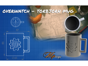 Overwatch - Torbjorn Mug