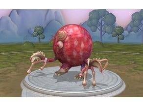 Creepy spore monster