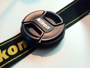 Camera Lens Cap Holder - 62mm