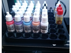 Storage Tray for 49 Vallejo Paints