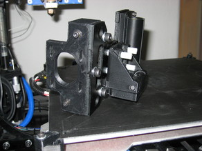 Anti Wobble Z Nut Mount for Lulzbot Taz 4 or 5 Printers