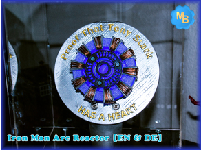 Iron Man Arc Reactor [EN & DE]