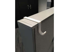 Office cubicle hook