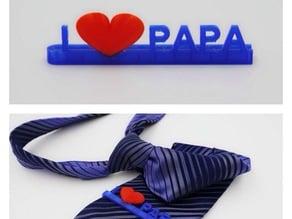 Father's day Tie clip