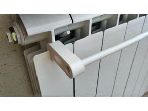 Dryer-bar for the heating radiator (parametric)