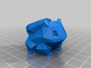 Low-Poly Bulbasaur Planter